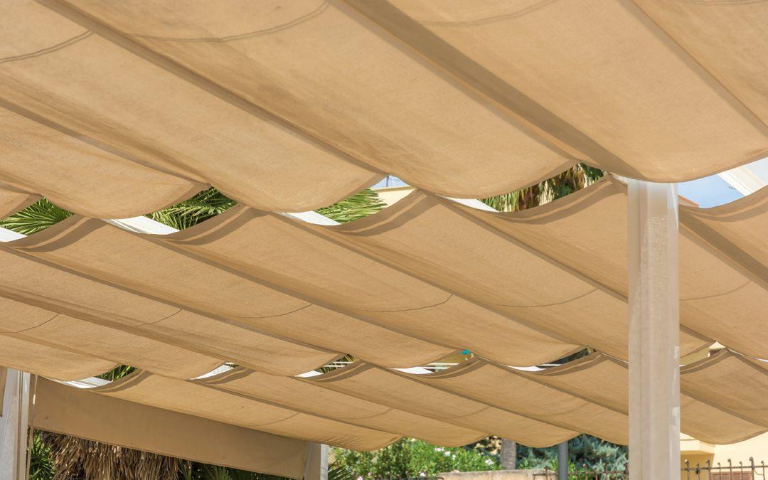 Tipos de tejidos para pérgolas: No solo cuestión de diseño