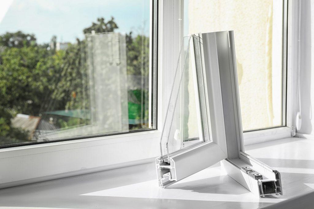 Perfil ventana PVC